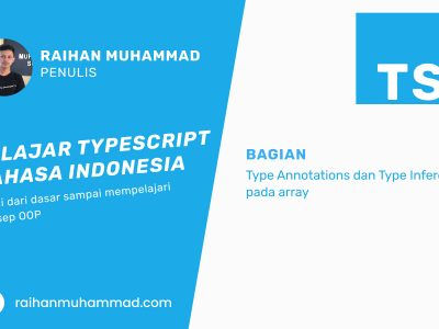 Type Annotations dan Type Inference - Raihan Muhammad